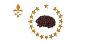 Republic of Madawaska - Image: Madawaska Flag Bicentennial