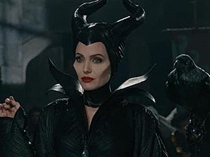 Maleficent - Angelina Jolie as Maleficent in the 2014 live action remake film