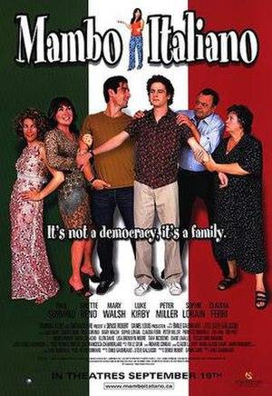 Mambo Italiano (film) - Theatrical release poster