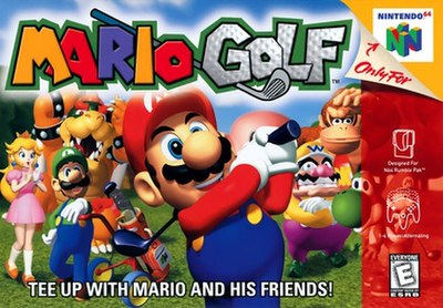 Picture of a game: Mario Golf