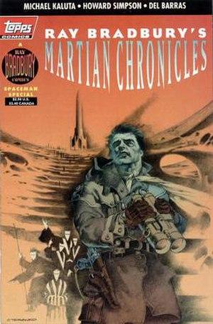 Topps Comics - Image: Martian Chronicles comic