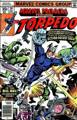 Torpedo (Marvel Comics) - Image: Marvel Premiere 39