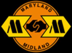 Maryland Midland Railway - Image: Maryland Midland Railway logo