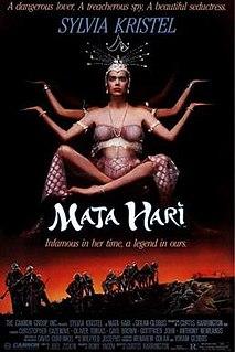 <i>Mata Hari</i> (1985 film) 1985 film by Curtis Harrington