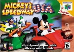 Mickey's Speedway USA - Image: Mickeys Speedway USA