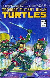 American comic book published by Mirage Studios, started in May 1984
