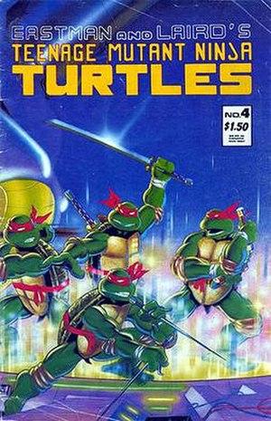 Teenage Mutant Ninja Turtles (Mirage Studios) - Image: Mirage vol 1 4 2