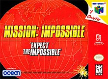 Mission Impossible for N64, Front Cover.jpg