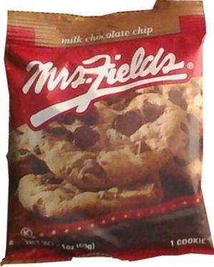 Mrs. Fields - Mrs. Fields cookie wrapper obverse