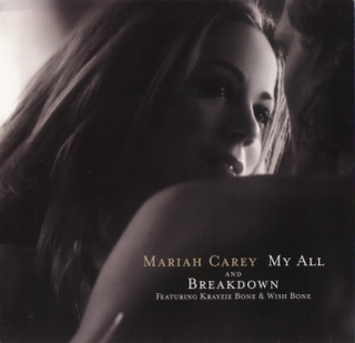 My All 1998 single by Mariah Carey