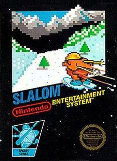 <i>Slalom</i> (video game) 1987 alpine skiing video game