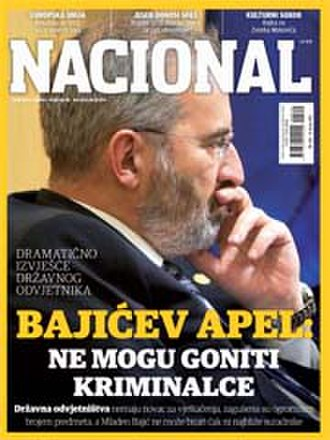 Nacional (weekly) - Cover of the issue no. 866, 19 June 2012