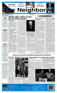 The Neighbor front page, 15 November 2006