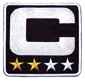 National Football League team captains - Oakland Raiders 2nd-year captain patch