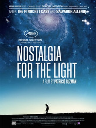 Nostalgia for the Light - Image: Nostalgia for the Light (film poster)