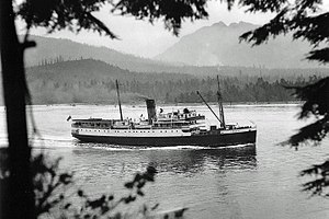SS Cardena - Image: Off Prospect Point, c. 1925