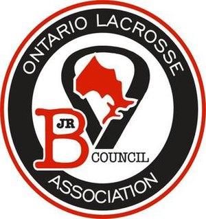 Ontario Junior B Lacrosse League - Image: Ontario Junior B Lacrosse