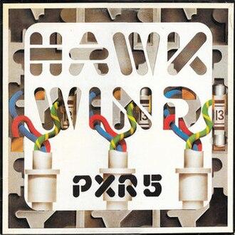 PXR5 - Image: PXR5 (Hawkwind album cover art)