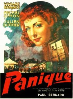 <i>Panique</i> 1946 French film directed by Julien Duvivier