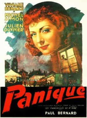 Panique - French theatrical release poster