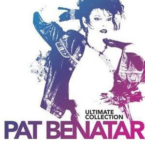 Ultimate Collection (Pat Benatar album) - Image: Pat Benatar Ultimate Collection