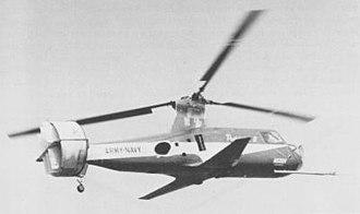 Piasecki 16H Pathfinder - Piasecki's 16H-1A Pathfinder II