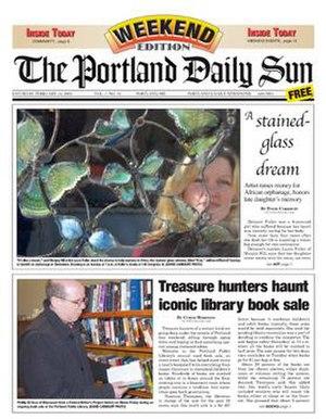 The Portland Daily Sun - Image: Portland Daily Sun