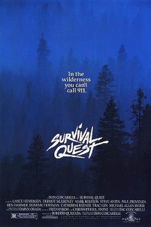 Survival Quest - Image: Poster of the movie Survival Quest
