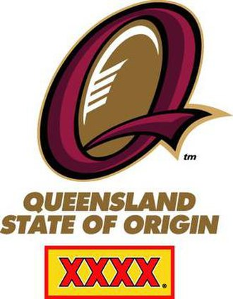 Queensland rugby league team - Former logo