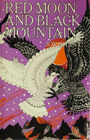 Red Moon and Black Mountain - cover art from first paperback edition, Ballantine Books, 1971.