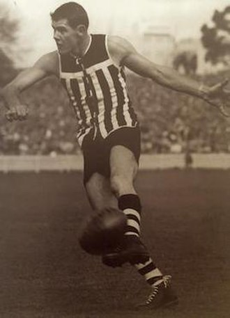 Rex Johns - Rex Johns at Adelaide Oval during the 1950's.