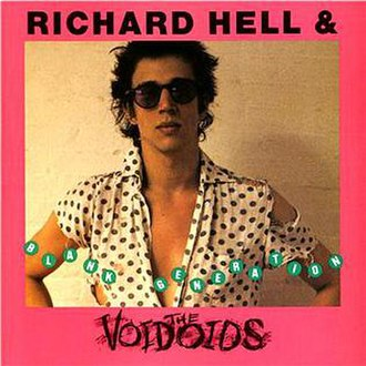 Blank Generation (album) - Image: Richard Hell & The Voidoids Blank Generation 1990 CD reissue cover