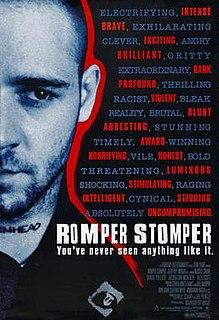 <i>Romper Stomper</i> 1992 film by Geoffrey Wright