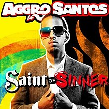Aggro Santos - Saint or Sinner (studio acapella)