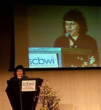 Zarr at the 2011 SCBWI conference