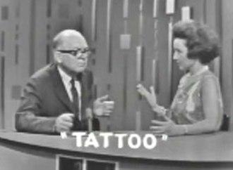 Allen Saunders - Allen Saunders on Password (May 20, 1965).