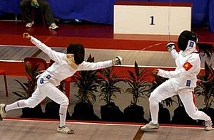 Fencing at the 2005 Southeast Asian Games