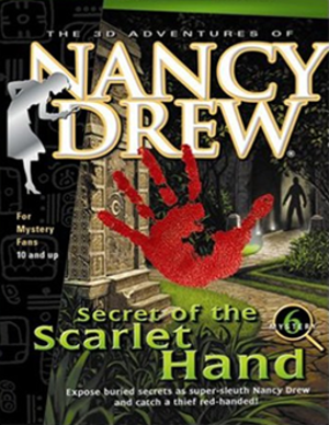 Nancy Drew: Secret of the Scarlet Hand - Image: Secret of the Scarlet Hand Coverart