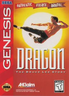 <i>Dragon: The Bruce Lee Story</i> (video game) 1994 video game