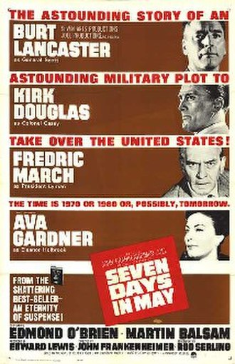 Seven Days in May - Theatrical release poster