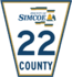 Simcoe Road 22 sign.png