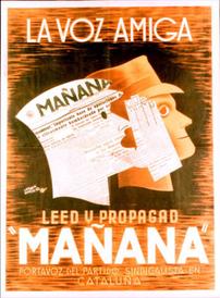Mañana promotion poster