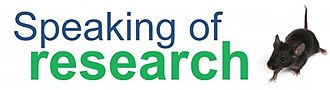 Speaking of Research - Image: Speaking of Research logo