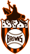 St. Louis Browns Logo, circa 1936-1951