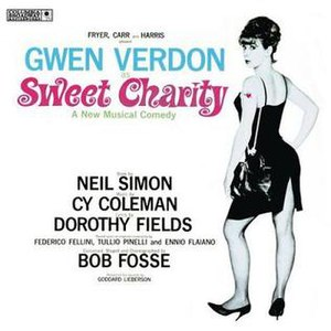 Sweet Charity - Original Broadway Cast Recording Cover (1966)