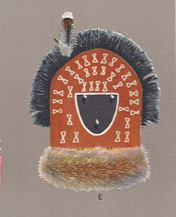 Image of mask of Tó Bájísh Chíní from Matthews 1902 text