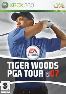 <i>Tiger Woods PGA Tour 07</i> 2006 video game