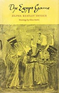 <i>The Egypt Game</i> American childrens novel, 1968 Newbery Honor Book