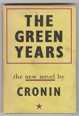 The New York Times Fiction Best Sellers of 1945 - The Green Years was one of several novels to top the NYT list in the 1940s by the popular Scots novelist A. J. Cronin