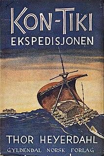 <i>The Kon-Tiki Expedition: By Raft Across the South Seas</i> book by Thor Heyerdahl